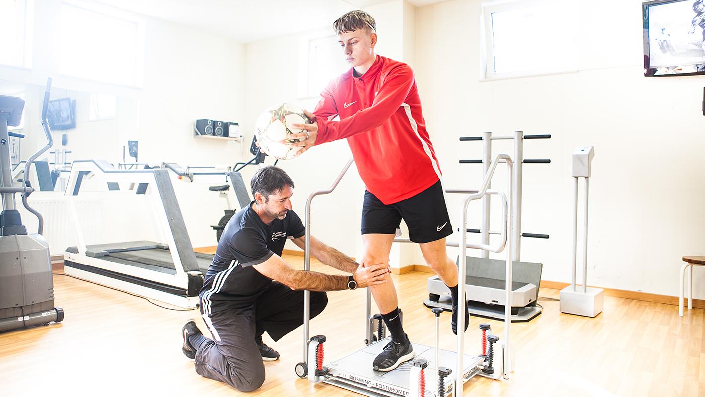 Erweiterte Physiotherapie
